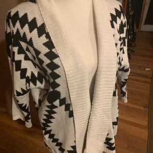 Staggered Pattern sweater